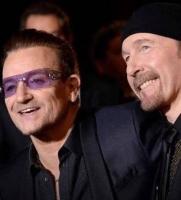 Mary til fest med U2's Bono! kronprinsesse mary, bono