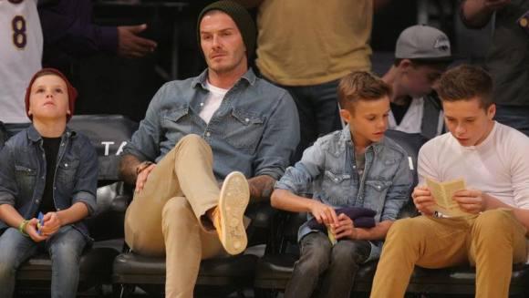 Beckham: Mine børn bliver populære! David Beckham, Victoria, Beckham, Spice Girls