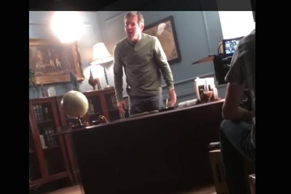 Se klippet: Filmstjerne amok på settet! hollywood, dennis quaid