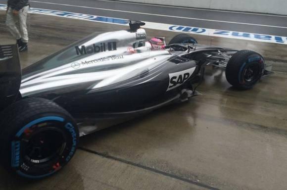 F1: Ulykke stopper regnvådt kaos-løb! formel 1, kevin magnussen
