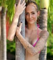 Geggo: Nu skal mine tatoveringer v�k! geggo, linse kessler, familien fra bryggen