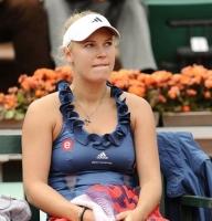 Wozniacki endnu engang droppet! caroline wozniacki, tennis
