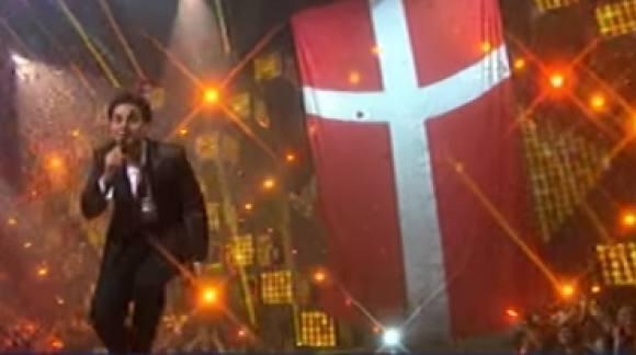 Eurovision: Basim dropper Dannebrog! Eurovision, Basim, Dannebrog