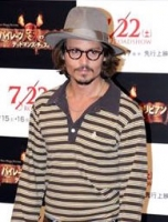 Depp kv�stet under pirat-optagelser! johnny depp, pirates of the caribbean