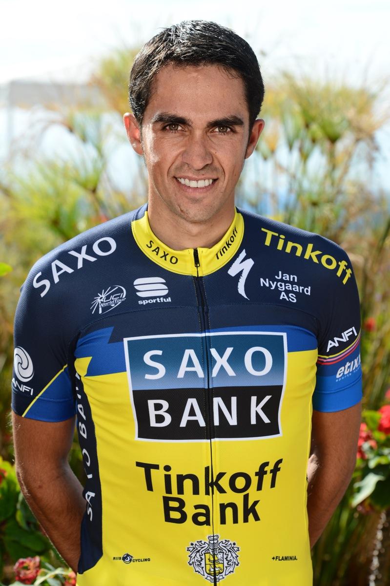 Contador er styrtet og udg�et ! Alberto Contador, cykling, riis, tour de france,