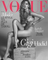 Gigi Hadid nøgen på Vogue-forside! gigi hadid, model