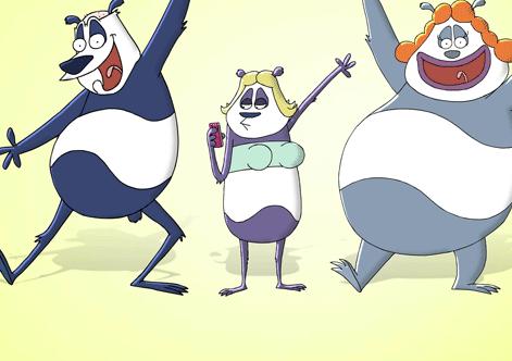 Absurd panda-satire er for voksne ! DR2, underholdning, tvguide.dk,