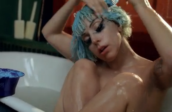 Lady Gaga nøgen i ny skandale video ! lady gaga,