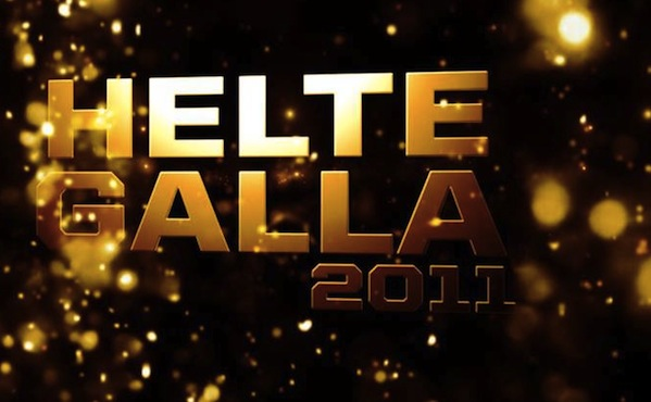 Endnu et Award show på TV2, Helte Galla ! Rasmus Seebach, Electric Lady Lad, Burhan G, award