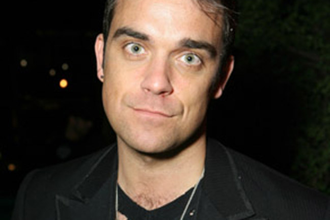Robbie Williams vil i seng med Pitt! Robbie Williams, Take That, Brad Pitt,