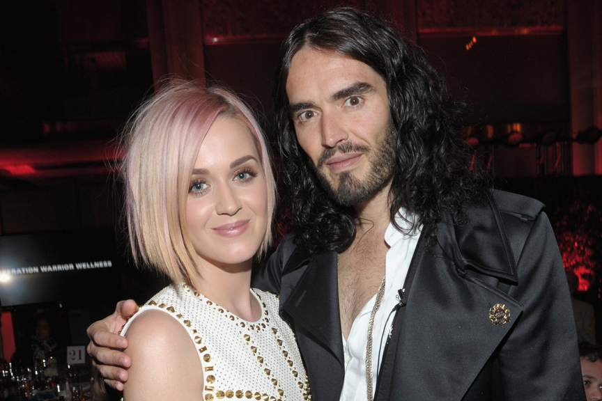 Katy Perry og Russell Brand skal skilles! Russell Brand, Katy Perry,