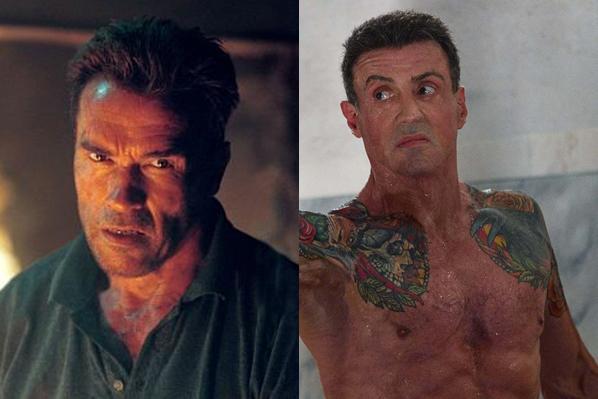 Schwarzenegger og Stallone indlagt! Arnold Schwarzenegger, Sylvester Stallone,