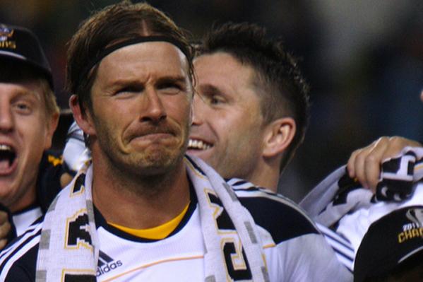 David Beckham er ble-mester! David Beckham, Victoria Beckham,