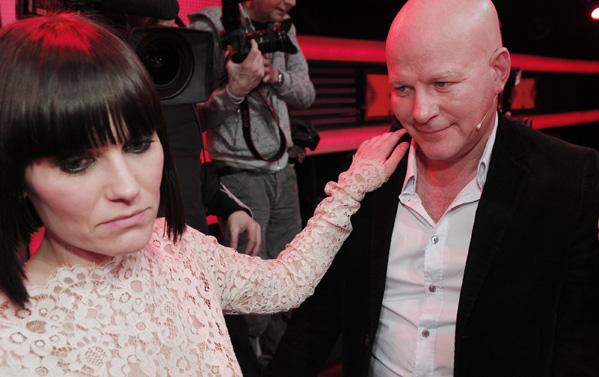 X Factor: Pernille elsker Thomas! X Factor, Thomas Blachman, Pernille Rosendahl, Cutfather,