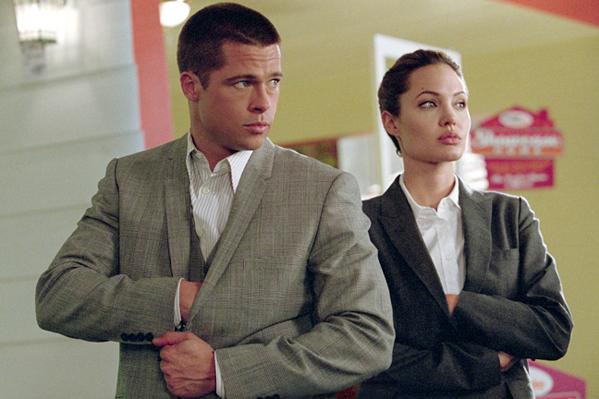 Pitt og Jolie forlovet! Brad Pitt, Angelina Jolie,