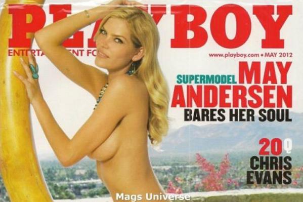 Lykke May på forsiden af Playboy! Lykke May, Lykke May Andersen,