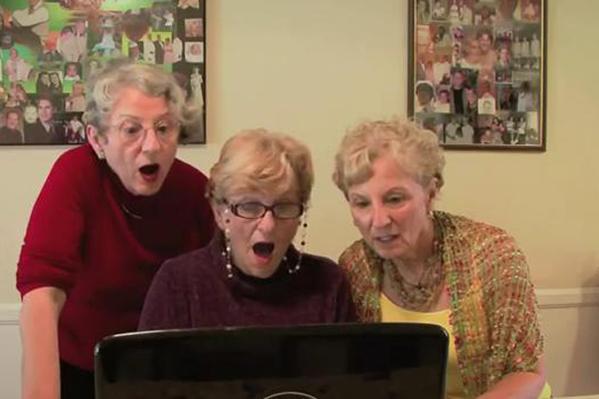 3 bedstemødre ser Kardashian-sex! Kim Kardashian, Ray-J,