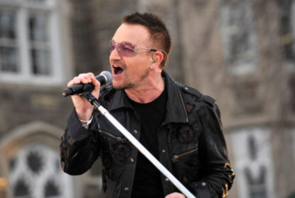 Bono scorer milliarder på Facebook! Bono, U2, Paul McCartney, beatles,