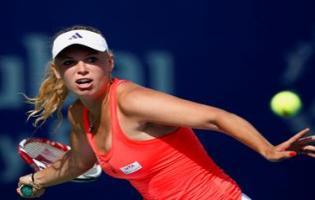 Caroline Wozniacki sikkert i finalen i Doha ! Caroline Wozniacki,