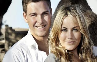 Chock: Amalie og Peter i voldeligt ægteskab ! amalie,paradise hotel,