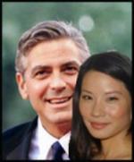 Clooney og Lucy Liu george clooney, Lucy Liu