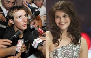 Andy Schleck scorede Lotte Friis ! Andy Schleck, lotte friis, tour de france,