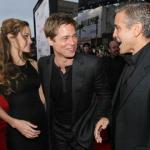 Angelina hader Clooney Angelina Jolie, George Clooney, Brad Pitt