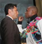 Boksebrag på TV Oscar De La Hoya, Mayweather
