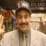 Borat i problemer Borat, saturday night live,