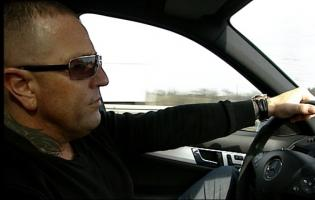 Brian Sandberg anholdt under TV-optagelser ! brian sandberg, krimi 5,