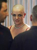 Britney barberede håret Britney Spears, skaldet