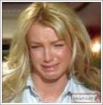 Britney brækkede sig på lokum Britney spears,