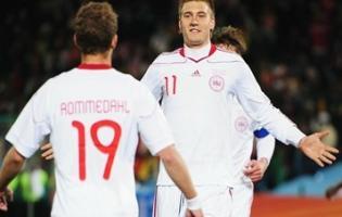 Danmark vandt heldigt - DR1 tabte !! vm, dr,Nicklas Bendtner,