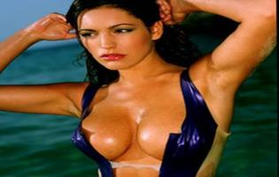 Kelly Brook: Verdens mest sexede Kelly Brook, Megan Fox, Angelina Jolie, Katy Perry