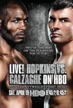 Hopkins vs. Calzaghe på TV Joe Calzaghe, boksning