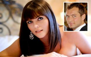 Jude Law far til fire med ukendt model jude law, samantha burke,