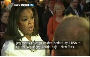 Oprah skabte kaos på strøget oprah,