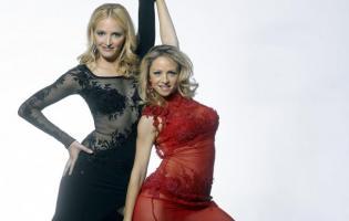 Lesbisk Tv-vært med sin partner i Vild med Dans! vild med dans, anja andersen,