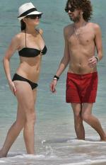 Lindsay på bikini-ferie Lindsay Lohan