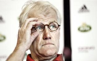 Morten Olsen stopper som landstræner ! morten olsen, fodbold,