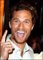 McConaughey gav pandelamper... Matthew McConaughey, jul