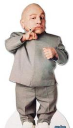 Mini-Me i mini-sexvideo Mini-Me, Verne Troyer