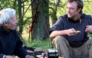 Nikolaj Kirk spiser dyr fra Danske skove ! Jørgen Skouboe,Nikolaj Kirk,