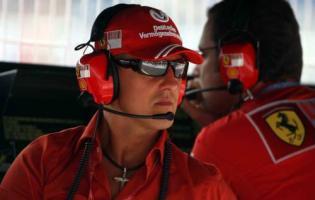 Schumachers første test i dag ! Schumacher,Ferrari,