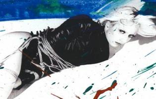 Se Lady Gaga topløs i Vogue Vogue, lady gaga,