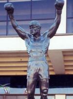 Statue af Rocky i Serbien Rocky Balboa, Serbien, statue