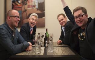 TIL MIDDAG HOS..ER TILBAGE ! Lasse Rimmer, Nikolaj Steen, Andreas Bo Larsen, Emil Thorup