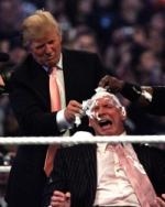 Trump barberer taberen Donald Trump, wrestling