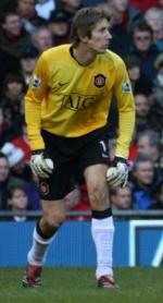 Van der Sar matchvinder Champions League, Chelsea, Manchester United, fodbold