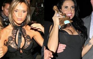 Victoria Beckham fik Jordan smidt ud fra Oscar fest ! Victoria Beckham,jordan,